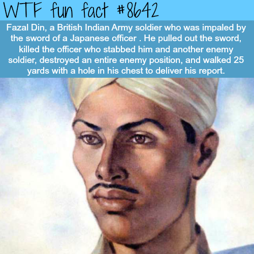 Fazal Din - WTF fun facts
