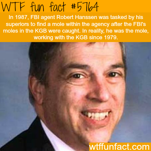 FBI agent Robert Hanssen - WTF fun facts