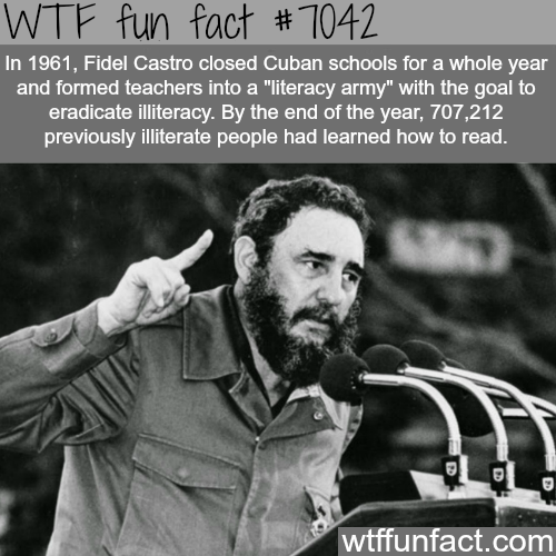 Fidel Castro - WTF fun facts