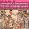 first biological warfare wtf fun facts