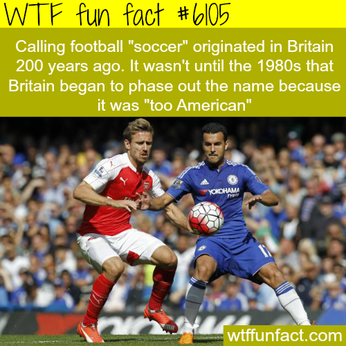 Football vs. soccer - WTF fun facts