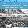 football war wtf fun facts