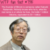 founder of bitcoin wtf fun fact