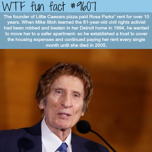 Founder of Little CaesarsPizza - WTF fun fact