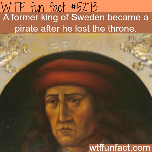 From king to pirate - WTF fun facts