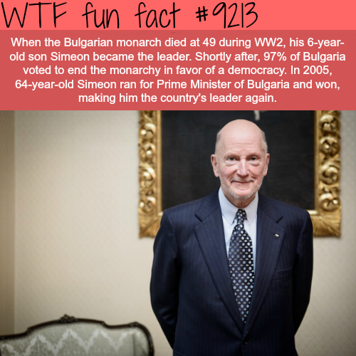 From King to Prime Minister - WTF Fun Fact