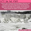 frozen niagara falls the harsh winter of february 2015