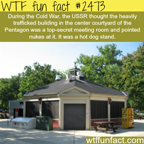 Funny cold war facts -WTF funfacts