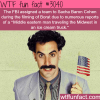 funny facts about the movie borat