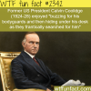 funny facts about u s presidents
