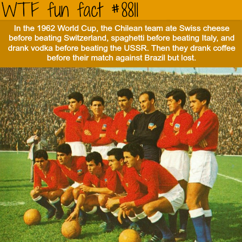 Funny World Cup Facts - WTF fun facts