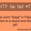 gaga meaning