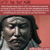 genghis khan burial site wtf fun fact