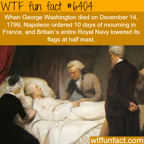 George Washington death - WTF fun facts