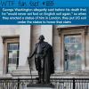 george washington statue in london wtf fun fact
