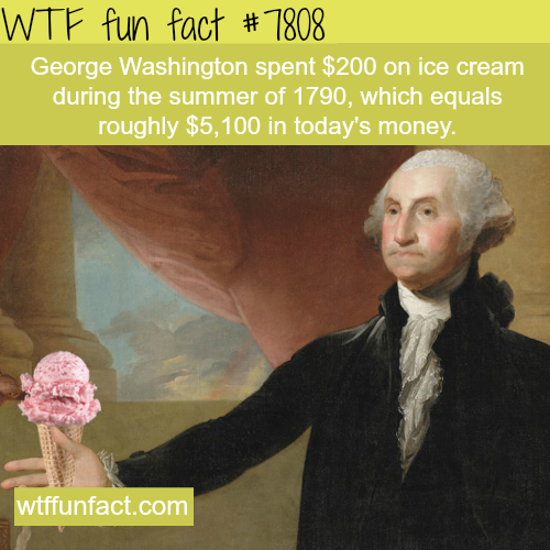George Washington - WTF fun facts