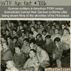 german soldiers watching footage of the