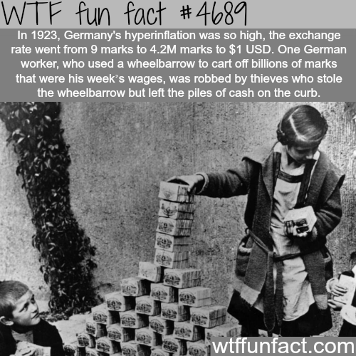 Germany's hyperinflation