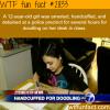 girl handcuffed for doodling in school