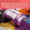 glitter can be used as forensic evidence wtf fun