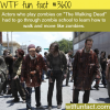 go to school to learn how to walk like a zombie