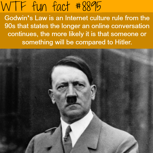 Godwin's Law - WTF fun facts