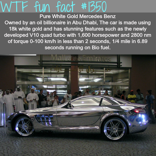Gold car - Most expensive cars