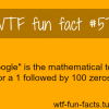 googol google more of wtf fun facts are coming