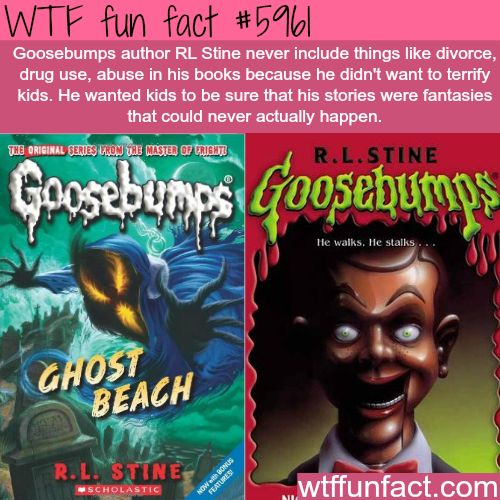 Goosebumps - WTF fun facts