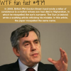 gordon brown wtf fun facts