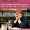 gordon ramsays kitchen nightmares wtf fun fact