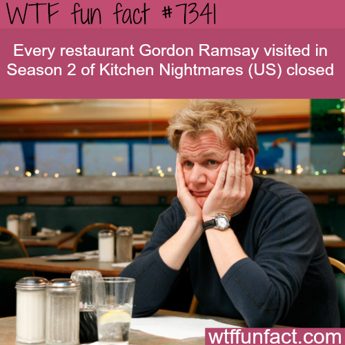 Gordon Ramsay's Kitchen Nightmares - WTF fun fact