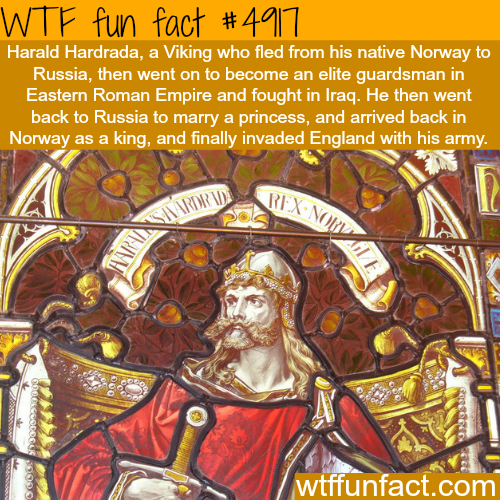 Harald Hardrada - WTF fun facts