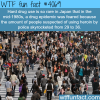 hard drug use in japan wtf fun facts