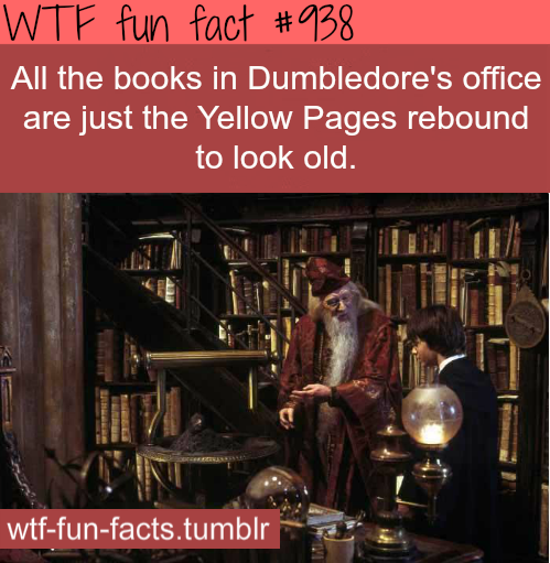 harry potter - movies facts