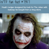 heath ledger wtf fun facts