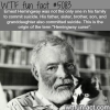 hemingway curse wtf fun facts