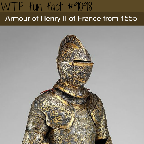 Henry II of France - WTF fun fact