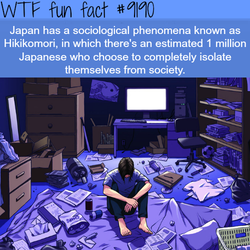 Hikikomori - WTF Fun Facts