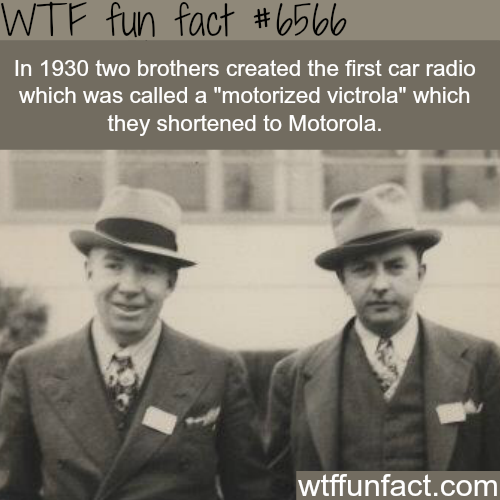 History of Motorola - WTF fun facts