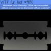 hitchenss razor wtf fun facts