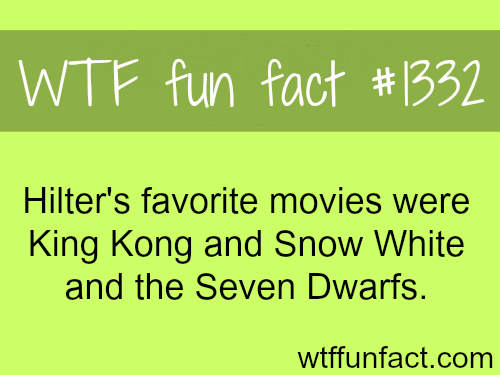 Hitler favorite movies - people and movie facts