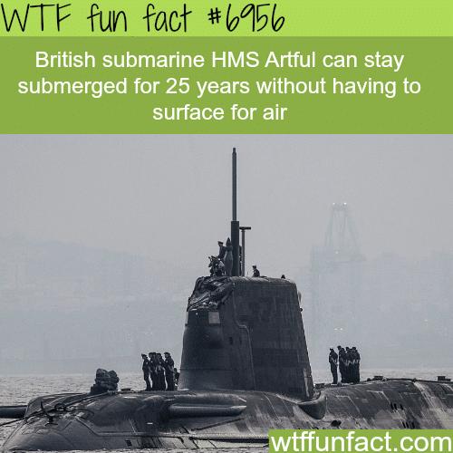 HMS Artful - WTF fun fact