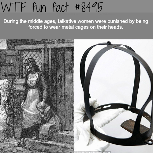 Horrible ways women were punished in middle ages - WTF fun facts