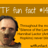 horror movies facts