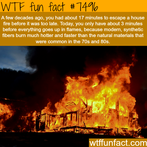 House fires - WTF FUN FACTS