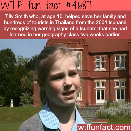 How a 10 year old girl saved hundreds of people from death - WTF fun facts