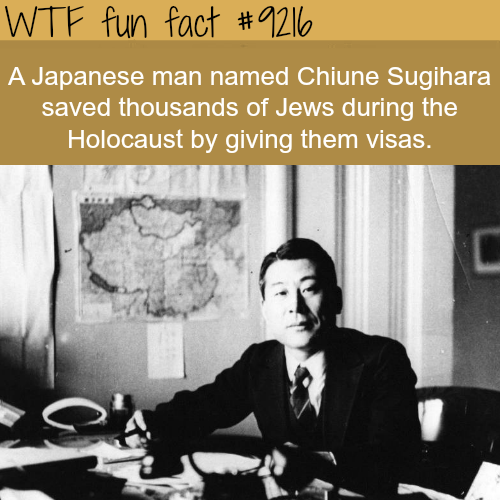 How a Japanese man saved 1000s of Jews - WTF Fun Fact