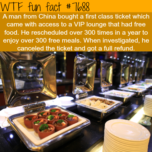 How a man in China got 300 meals for free - WTF FUN FACTS