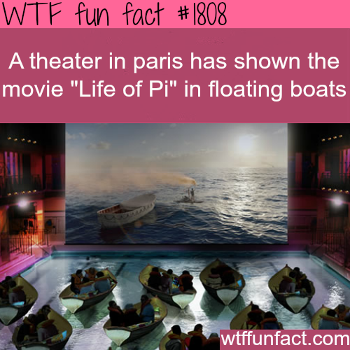 How a theater in Paris showed Life of Pi -WTF fun facts